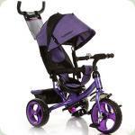 Трехколесный велосипед Turbo Trike M 3113-8 Фиолетовый