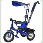 """Велосипед 3-х колесный Mini Trike надувные (синий) 10""""8"""""""