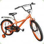 """Велосипед Crosser Street C-7 16"""" Оранжевый"""