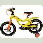 """Велосипед Hollicy 16 """"(желтый)"""