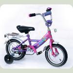 """Велосипед Марс 18"""" ручной тормоз+эксцентрик (розовый/фиолетовый)"""
