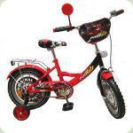 """Велосипед Profi 14"""" Cars Красный (PO1442)"""
