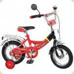 """Велосипед Profi Trike P1246A 12""""  Красно-черный"""