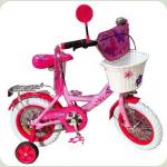 """Велосипед Profi Trike P1256F-W 12"""" Бабочка 2New"""