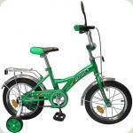"Велосипед Profi Trike P1432/1422 14"" Зеленый"