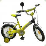 "ВЕЛОСИПЕД TILLY EXPLORER 14"" YELLOW/BLACK (T-21413)"
