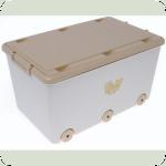 Ящик для игрушек Tega Miss MS-007 cappuccino pearl