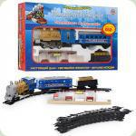 Железная дорога Metr+ Голубой вагон (7014)