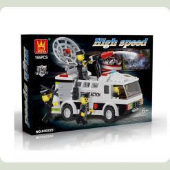 "Конструктор ""Поліцейський фургон"" (155 деталей)"