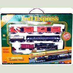 Локомотив і 5 вагонів