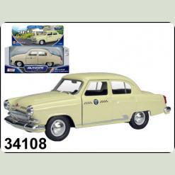 34108W-CIS GAZ 21 VOLGA 1:43 Таксі на Дубровку