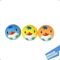 Набір для гри у ванній: 3 кольорових м'ячика