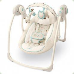 Крісла-гойдалка Bright Starts Comfort & Harmony Portable Swing (Брайт стартс)