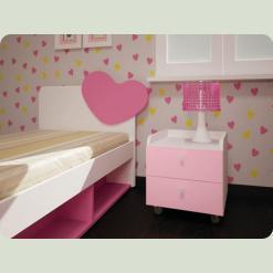 Дитяче ліжко Сонячне місто-2