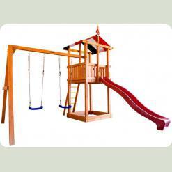 Дитячий дерев'яний майданчик Бебіленд-2
