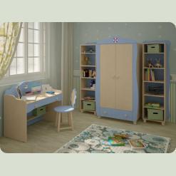 Повний комплект дитячої спальні Кнопочка