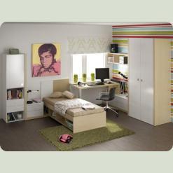 Повний комплект дитячої спальні Мегаполіс