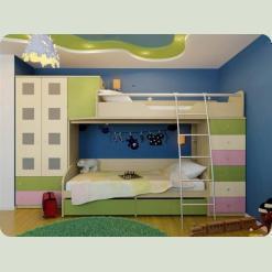 Повний комплект дитячої спальні NEXT