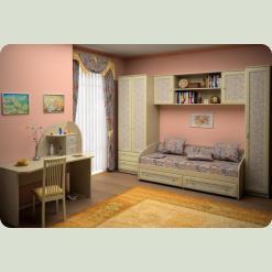 Повний комплект дитячої спальні NEXT Classic