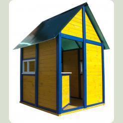 Дитячий будиночок з дерева Кіндерленд-1