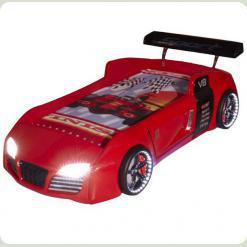 Ліжко машина Audi V8, червона