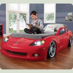 """Ліжко - машина для дітей """"Corvette"""""""