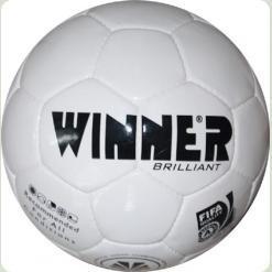М'яч футбольний WINNER Brilliant для професійних тренувань на будь-якому полі