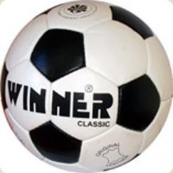 М'яч футбольний WINNER Classik  - суперміцна модель для всіх рівнів