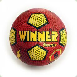 М'яч футбольний WINNER Street Сup - підходящий варіант для гри на вулиці