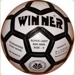 Полегшений м'яч футбольний для юніорів - WINNER Super Light № 4