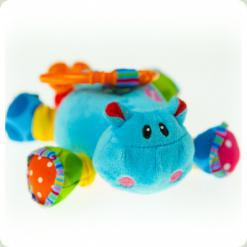 Активна іграшка-підвіска Biba Toys Бегемотик Риггл (991DS)