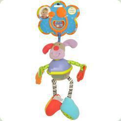 Активна іграшка-підвіска Biba Toys Качающийся Пес (076BR)