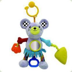 Активна іграшка-підвіска Biba Toys Кумедний мишеня зі звуком (115GD)