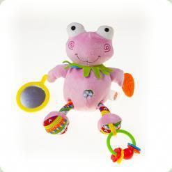 Активна іграшка-підвіска Biba Toys Кумедний жабеня (112GD)