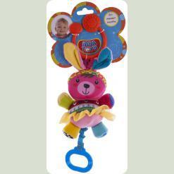 Активна іграшка-підвіска Biba Toys Щаслива кролиця (902HA bunny)
