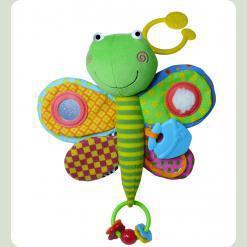 Активна іграшка-підвіска Biba Toys Цікава Стрекоза (024GD dragonfly)