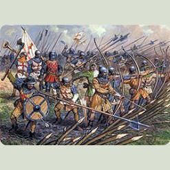 Англійська піхота 100-літньої війни