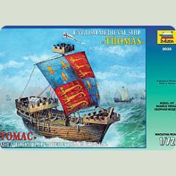 """Англійський корабель """"Томас"""""""