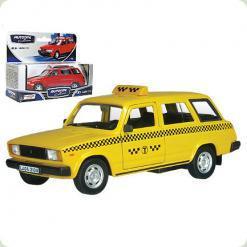 Авт 32681W-CIS LADA 2104 1:43 таксі