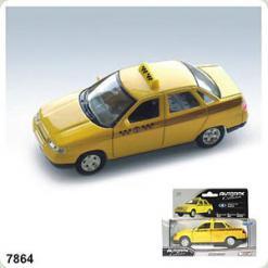 Авт 7864W-CIS LADA +2110 1:43 таксі