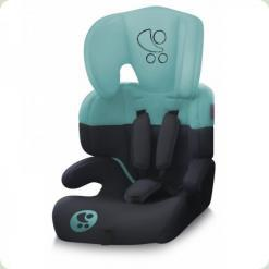 Автокрісло Bertoni JUNIOR (black & green lorelli)