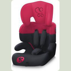 Автокрісло Bertoni JUNIOR (black & red lorelli)