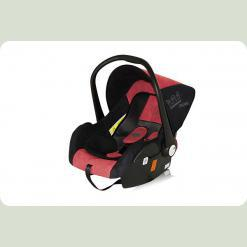 Автокрісло Bertoni LIFESAVER (black & red crown)