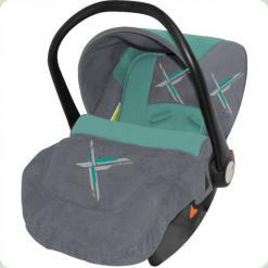 Автокрісло Bertoni LIFESAVER (grey green lorelli)