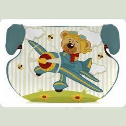 Автокрісло Bertoni TEDDY 15-36 (aquamarine pilot bear)