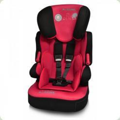 Автокрісло Bertoni X-DRIVE + (black & red b-zone)