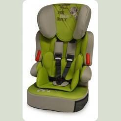 Автокрісло Bertoni X-DRIVE + (caramel & green pilot)