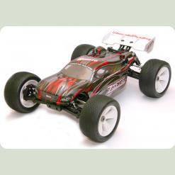 Автомобіль Траггі 1:8 Himoto Ziege MegaE8XTL Brushless (червоний)