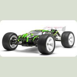 Автомобіль Траггі 1:8 Himoto Ziege MegaE8XTL Brushless (зелений)
