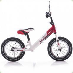 """Беговел Azimut Balance Bike Air 12"""" Червоно-білий"""